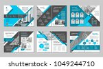 brochure creative design.... | Shutterstock .eps vector #1049244710