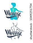 women health  beauty  massage... | Shutterstock .eps vector #1049251754