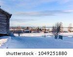 Snowy Swedish Landscape Of T...