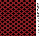 suit red rhombuses on dark... | Shutterstock . vector #1049258258