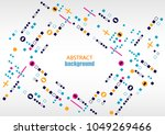 background abstraction ... | Shutterstock .eps vector #1049269466