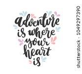 motivational lettering phrase ... | Shutterstock .eps vector #1049297390