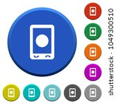 mobile media record round color ... | Shutterstock .eps vector #1049300510