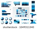infographic element. big set.... | Shutterstock .eps vector #1049311340