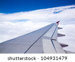 clouds and sky as seen through... | Shutterstock . vector #104931479