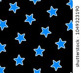 chaotic pattern based on random ... | Shutterstock . vector #1049323190