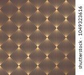 art deco pattern. seamless... | Shutterstock .eps vector #1049323616