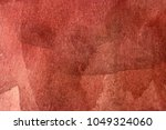 bright red watercolor background | Shutterstock . vector #1049324060