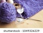 knitting  yarn ball   Shutterstock . vector #1049326229