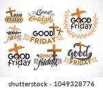 good friday illustration... | Shutterstock .eps vector #1049328776