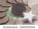 a quarter of colorado  quarters ... | Shutterstock . vector #1049331944