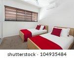 Stylish Twin Bedroom In Modern...