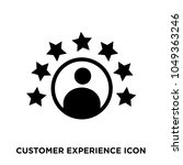 customer experience icon ... | Shutterstock .eps vector #1049363246