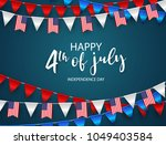 happy 4th of july holiday... | Shutterstock .eps vector #1049403584