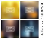 abstract bright blur background.... | Shutterstock .eps vector #1049406503