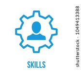 skills icon. communication...   Shutterstock .eps vector #1049413388