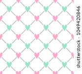 cute seamless vector pattern... | Shutterstock .eps vector #1049420846