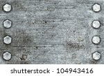 Brushed Metal Background With...