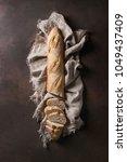 Loaf Of Sliced Fresh Baked...