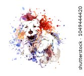vector color illustration of a... | Shutterstock .eps vector #1049444420