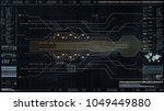 hi tech user interface head up...