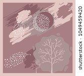 silk scarf design   Shutterstock .eps vector #1049459420
