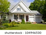 north american home in the... | Shutterstock . vector #104946530