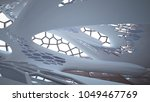 empty smooth abstract room... | Shutterstock . vector #1049467769