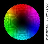 color wheel or circle with... | Shutterstock .eps vector #1049471720