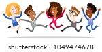 vector illustration of cartoon...   Shutterstock .eps vector #1049474678