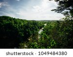 Overlooking Willow River State Park in Wisconsin 2. A glimpse into the beauty of Willow River State Park in Wisconsin