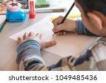 creative workshop for kids.... | Shutterstock . vector #1049485436