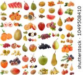 group of fruits in front of... | Shutterstock . vector #1049508410