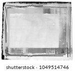 grunge cracked banner... | Shutterstock . vector #1049514746