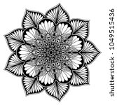 mandalas for coloring book....   Shutterstock .eps vector #1049515436