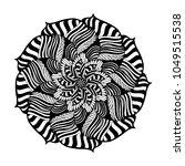 mandalas for coloring book....   Shutterstock .eps vector #1049515538