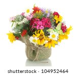 Beautiful Bouquet Of Bright ...
