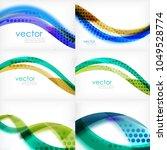 set of business corporate...   Shutterstock .eps vector #1049528774