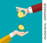 money concept. vector flat...   Shutterstock .eps vector #1049534228