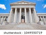 missouri state capitol building ...   Shutterstock . vector #1049550719