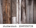variety of vertically nailed...   Shutterstock . vector #1049550728