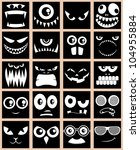 avatars in black  set of 20...