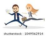 business people running in race ...   Shutterstock .eps vector #1049562914