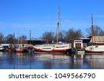 museumswerft  historic dockyard ... | Shutterstock . vector #1049566790