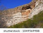 montezuma castle national... | Shutterstock . vector #1049569988