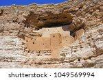 montezuma castle national... | Shutterstock . vector #1049569994