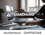coaching and mentoring on... | Shutterstock . vector #1049583368