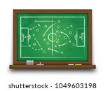 soccer cup formation and tactic ... | Shutterstock .eps vector #1049603198