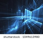 fractal art   computer image ...   Shutterstock . vector #1049613980