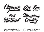 vector illustration  set of... | Shutterstock .eps vector #1049615294